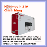 mực in Canon 319 chính hãng