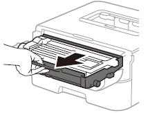 Cách thay mực máy in Brother HL L2321D bước 2