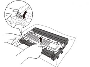 Cách thay mực máy in Brother HL L2321D bước 3