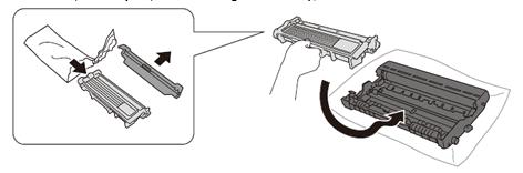 Cách thay mực máy in Brother HL L2321D bước 4