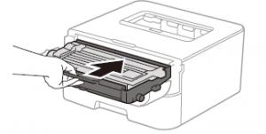 Cách thay mực máy in Brother HL L2321D bước 6