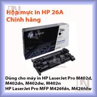 Mực in HP 26A chính hãng