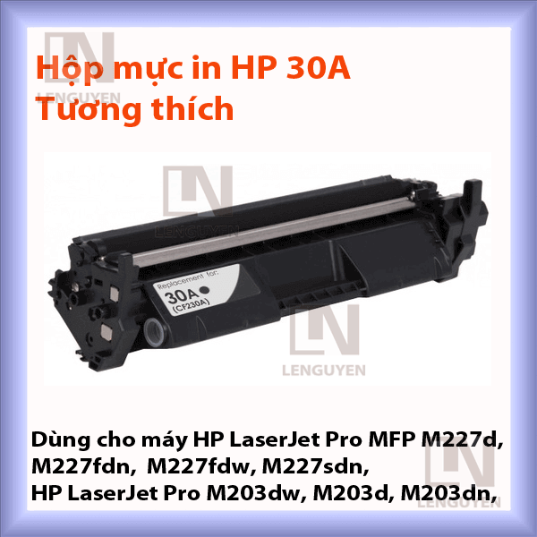 Mực in HP 30A