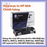 Mực in HP 80A chính hãng