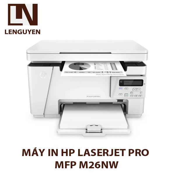 Máy in HP LaserJet Pro MFP M26nw