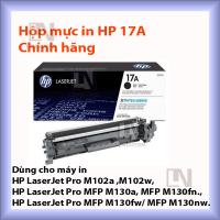 Mực in HP 17A chính hãng