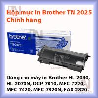 Hộp mực in Brother TN 2025 chính hãng