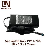 Sạc laptop Acer 19V-4.74A đầu 5.5 x 1.7 mm