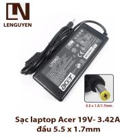 Sạc laptop Acer 19V- 3.42A đầu 5.5 x 1.7mm