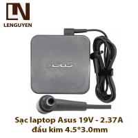 Sạc laptop Asus 19V - 2.37A đầu kim 4.5*3.0mm (ZIN)