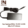Sạc laptop DELL 19.5V-3.34A đầu 4.5*3.0mm
