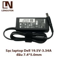 Sạc laptop Dell 19.5V-3.34A đầu 7.4*5.0mm