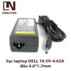 Sạc laptop DELL 19.5V-4.62A đầu 4.0*1.7mm