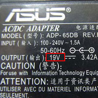 Lưu ý số vol khi mua sạc laptop