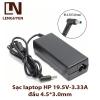 Sạc laptop HP 19.5V-3.33A đầu 4.5*3.0mm